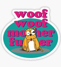 Woof Woof Sticker