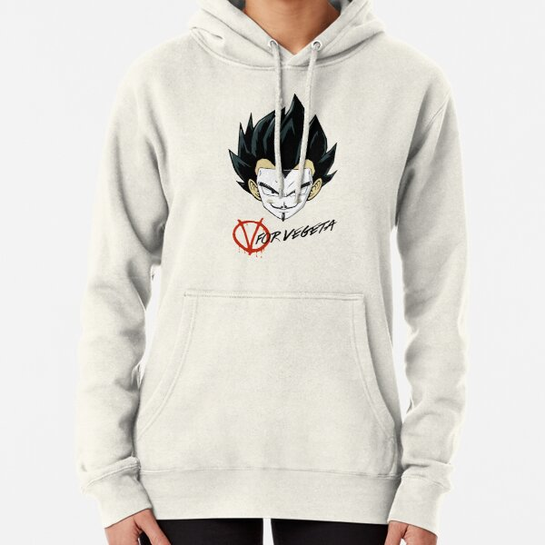 Color Vegeta Hoodie Pulli Sweatshirt Kapuze Pullover Jacke Dragonball Goku Manga