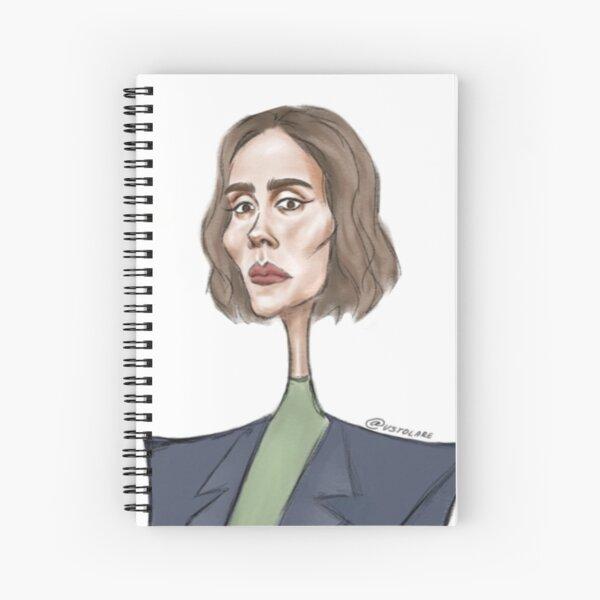 Sarah Paulson Cahier à spirale