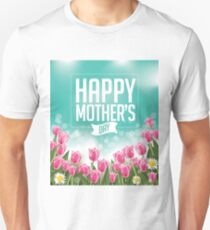 Happy Mothers Day tulips design T-Shirt