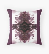 Violet Diamond Throw Pillow