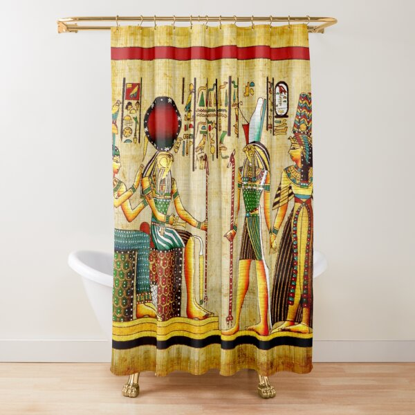 Copy of Copy of egypt design 4 Shower Curtain