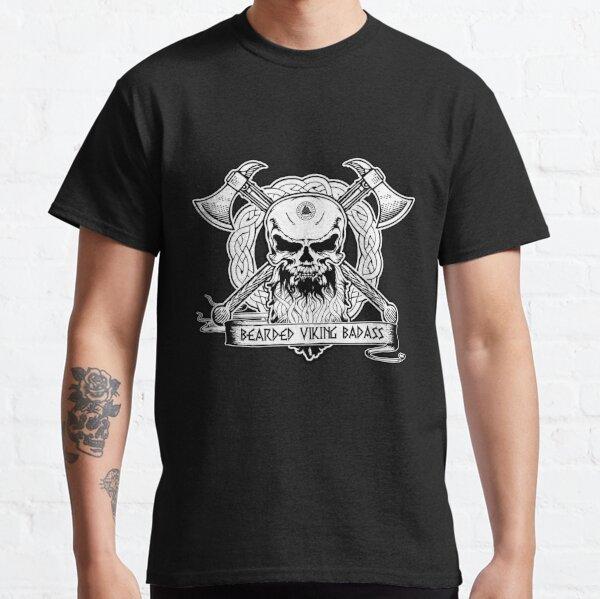 Bearded Viking Badass Classic T-Shirt