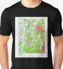 USGS TOPO Map New Jersey NJ Caldwell 254219 1954 24000 Unisex T-Shirt