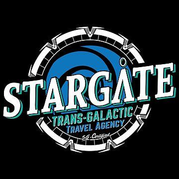 Stargate - Trans-galactic travel agency - blue by moombax