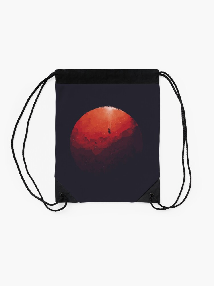 Alternate view of Astral Projection Drawstring Bag