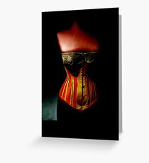 The Corset Greeting Card