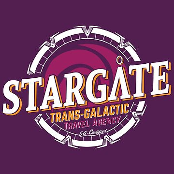 Stargate - Trans-galactic travel agency - yellow by moombax