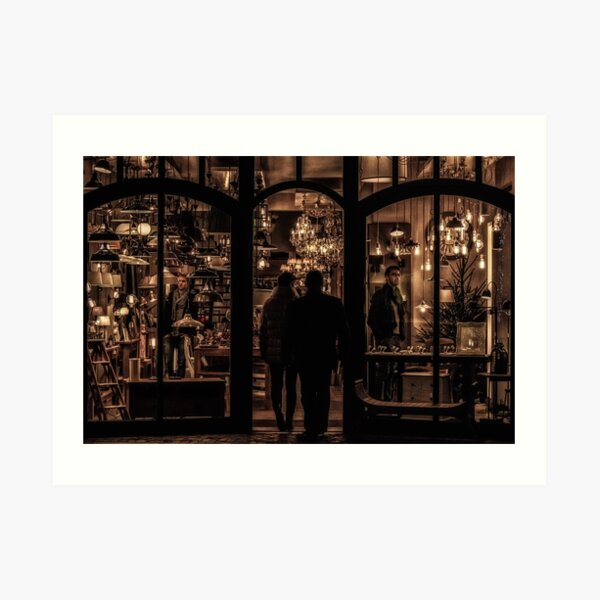 The Light Shop Art Print