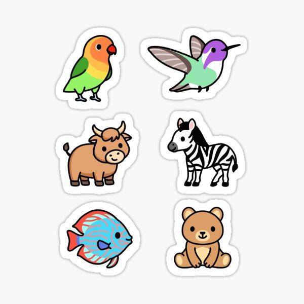Cute Animal Sticker Pack 13 Sticker