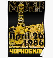 CHERNOBYL 30th Anniversary Poster