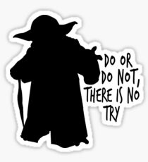 Yoda's Words of Wisdom Sticker
