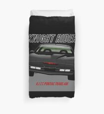 Knight Rider Pontiac Trans Am 1982 Duvet Cover