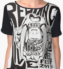 Red Fang Women's Chiffon Top