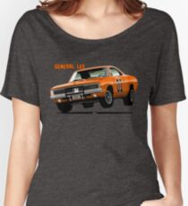 General Lee Dodge Charger Women's Relaxed Fit T-Shirt