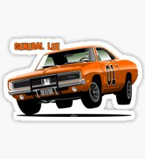 General Lee Dodge Charger Sticker
