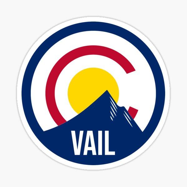 Vail Colorado Flag Sticker