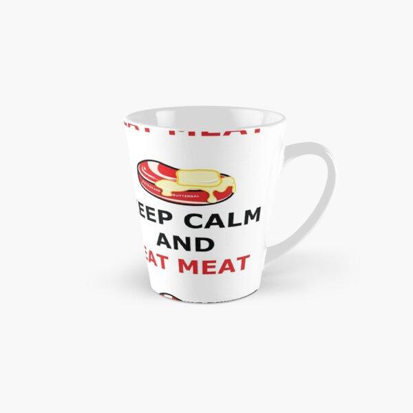 Keep Calm Eat Meat Tall Mug