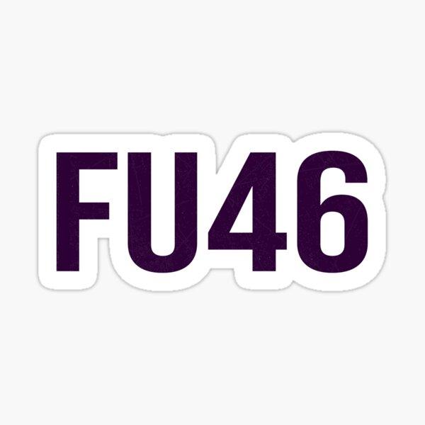 FU46 buck fiden Anti Joe Biden Joe Biden Sucks  2020 men and women us flag Sticker