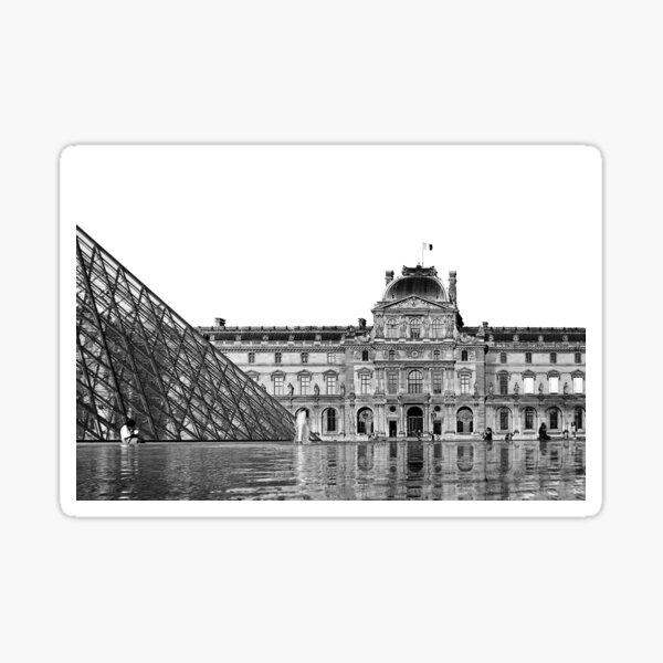 Paris - Louvre Sticker