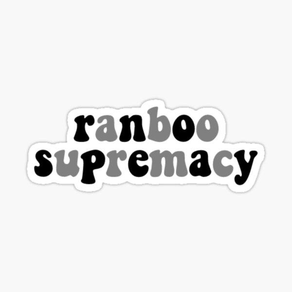 ranboo supremacy Sticker