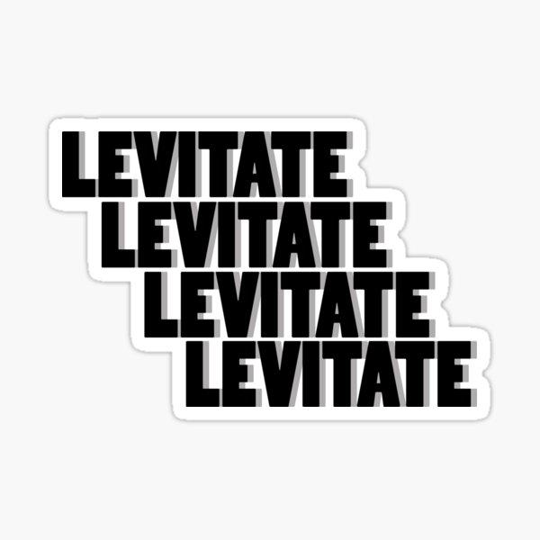 Kendrick LEVITATE Sticker
