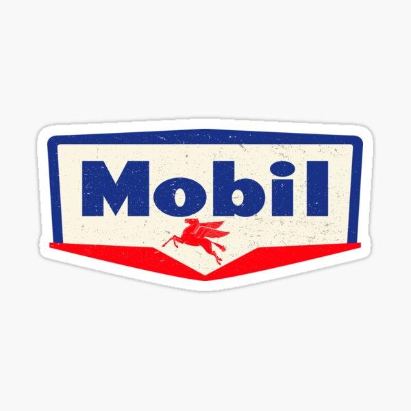 Mobil oil Vintage sign - logo 1950 Sticker