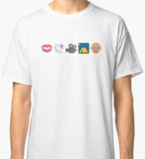 Pentatonix: Can't Sleep Love - Kissin' In The Moonlight Movies On A Late Night Gettin' Old (Emojis) Classic T-Shirt