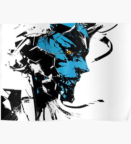 Metal Gear Rising Posters Redbubble