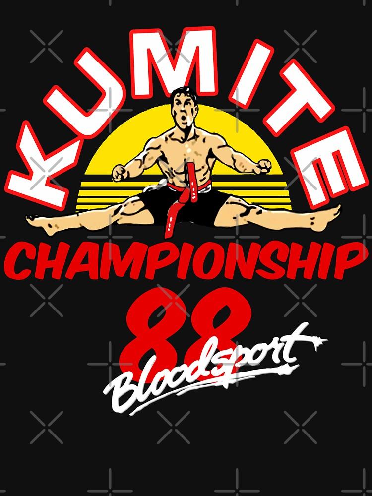 Kumite Championship Bloodsport 88 Movies  by 80s90stee