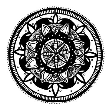 Mandala  5 by Leah D by TequilaSheila