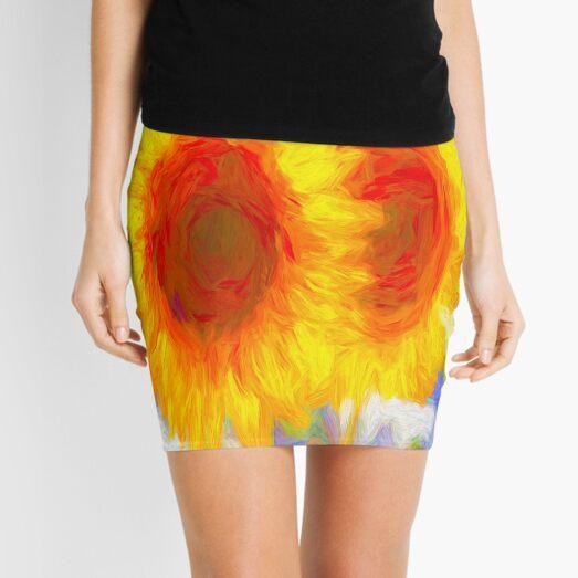 Sunflower Dreams Mini Skirt