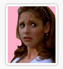 Pink Buffy Summers Sticker