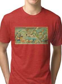 Man vs. Dragon 3 Tri-blend T-Shirt