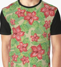 Tropical Floral 1 Graphic T-Shirt