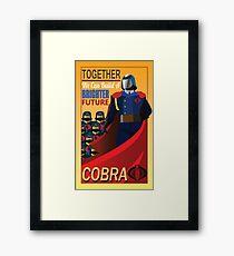 Join Cobra Framed Print
