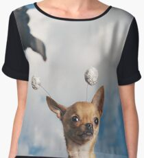 Space Chihuahua, #3 Women's Chiffon Top
