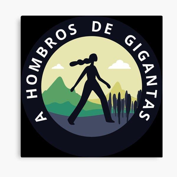 Gigantas Shoulder Logo Canvas Print