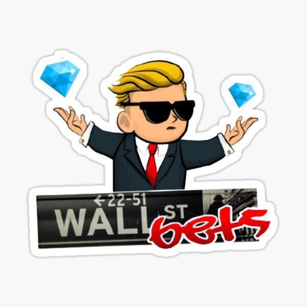 WallStreetBets Diamond Hands Sticker