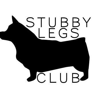 Stubby Legs Club - Corgi by corgerz