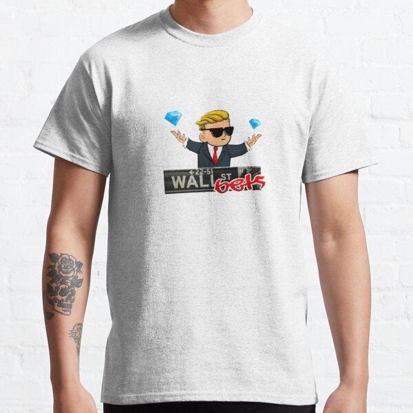 WallStreetBets Diamond Hands Classic T-Shirt