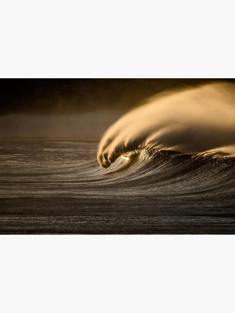 Golden Wave by LanceWilson