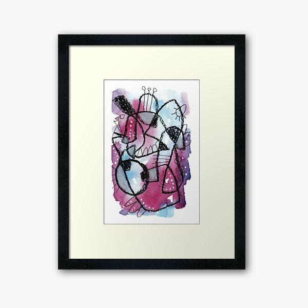 Day 57 - Abstract Art Framed Art Print