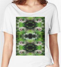 Flowers Fractal Pattern Women's Relaxed Fit T-Shirt