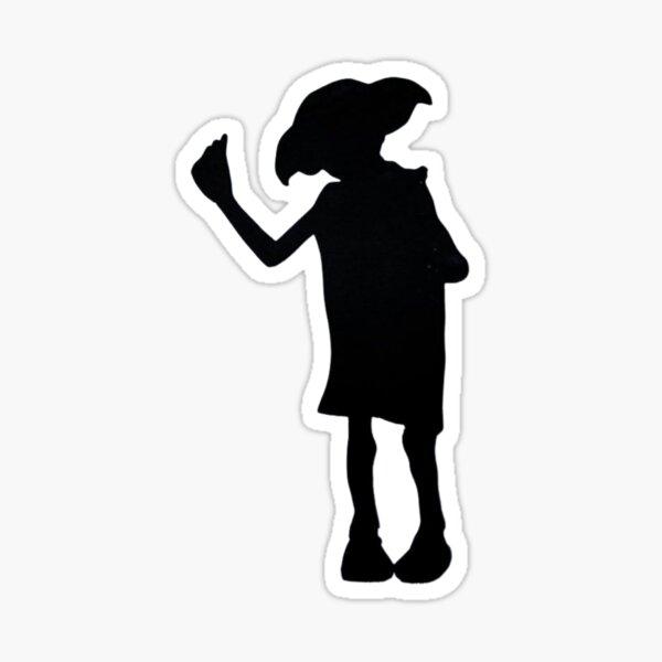 Magic Elf Silhouette Sticker