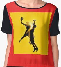 basketball Chiffon Top