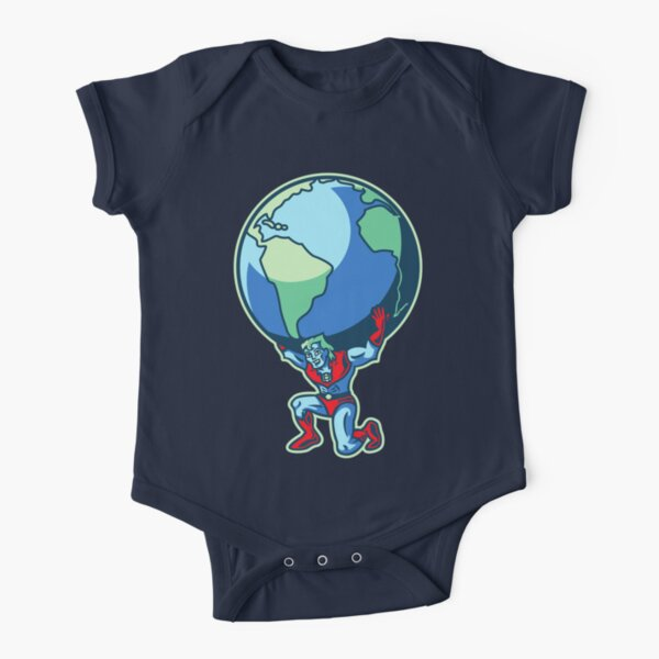 The Weight of the World Short Sleeve Baby One-Piece