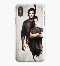 supernatural - dean and sam iPhone Case