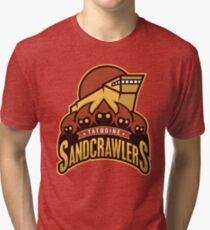 Tatooine SandCrawlers Tri-blend T-Shirt