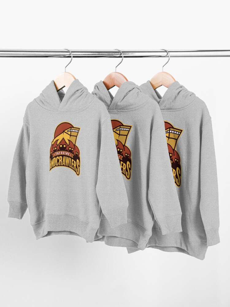 Alternate view of Tatooine SandCrawlers Toddler Pullover Hoodie